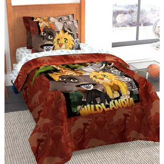 AR+ Wildlandia Twin/Full Bedding Comforter Set with AR Technology by The Northwest Co.