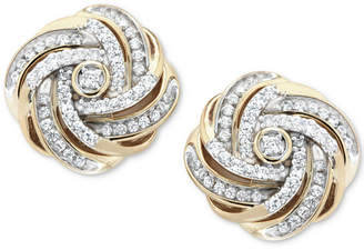 Macy S Gold Fine Earrings Shopstyle Australia