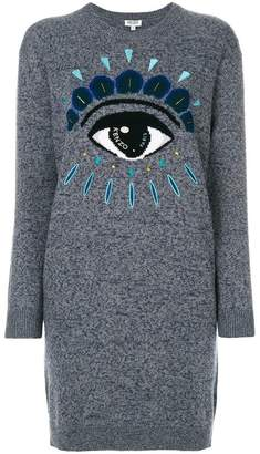 Kenzo Eye jumper dress