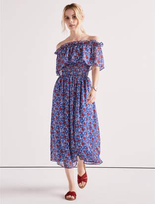 Lucky Brand OFF SHOULDER FLORAL DRESS