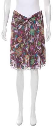 Diane von Furstenberg Waverly Silk Skirt