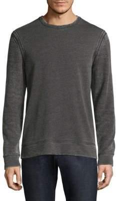 John Varvatos Heathered Sweatshirt