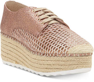 INC International Concepts I.N.C. Women's Abrelia Espadrille Platform Sneakers, Created for Macy's
