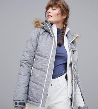 Protest Peppe ski jacket in gray