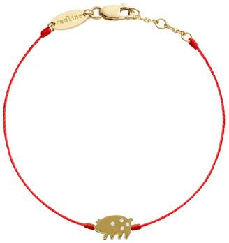 Redline Diamond Pig Bracelet - Yellow Gold