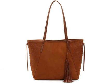 Lucky Brand Plum Leather Tote - Women's