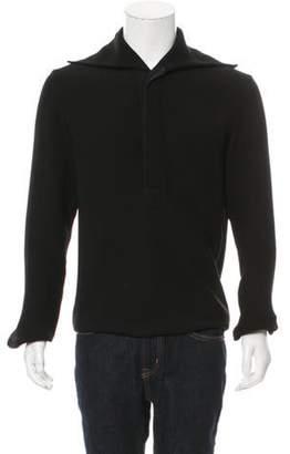 J.W.Anderson Open Collar Sailor Shirt black Open Collar Sailor Shirt