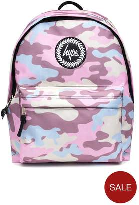 Hype Camo Backpack - Pink