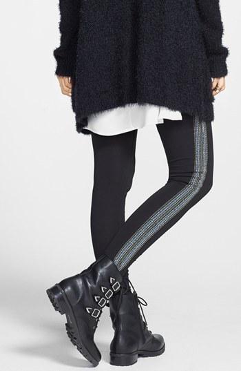 Rubbish Embroidered Leggings (Juniors)