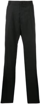 Lanvin pinstripe straight leg trousers