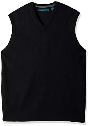 Perry Ellis Men's Pullover V-Neck Sweater Vest