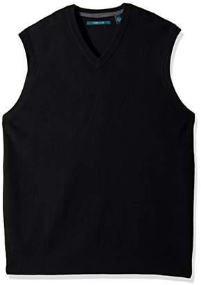 Perry Ellis Men's Big Pullover V-Neck Sweater Vest