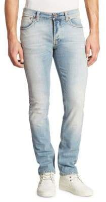 Nudie Jeans Grim Tim Slim Straight Jeans