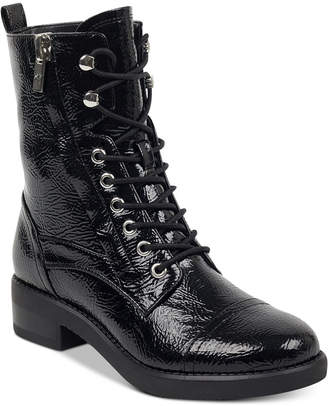 Marc Fisher Uleesa Combat Boots Women's Shoes