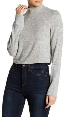 Project Social T Mock Neck Sweater