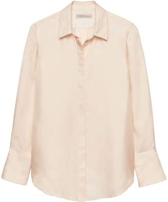 Banana Republic Heritage Silk Button Down Shirt