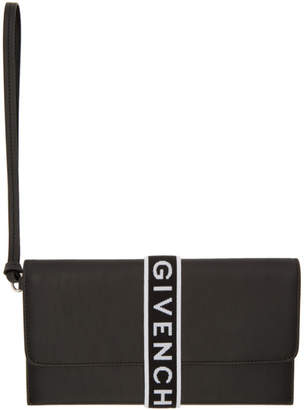 Givenchy Black Urban Elastic Wallet