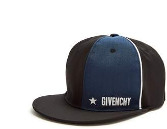 Givenchy Contrast-panel cap