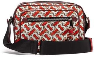 Burberry Monogram Print Cross Body Bag - Mens - Red Multi