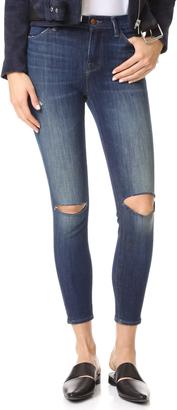 J Brand Alana High Rise Crop Jeans $198 thestylecure.com