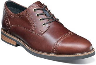 Nunn Bush Overland Mens Cap Toe Casual Oxford Shoes