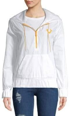 True Religion Graphic Half-Zip Jacket
