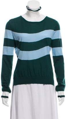Fendi Cashmere Striped Top