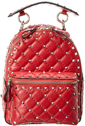 Valentino Mini Rockstud Spike Leather Backpack