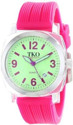 TKO ORLOGI Women's TK558-GF Milano Junior Acrylic Case Dial Watch