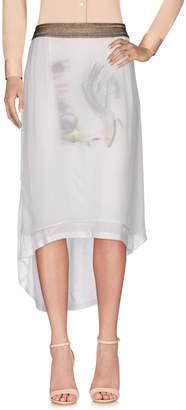 Manila Grace DENIM Knee length skirts