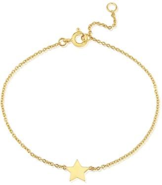 Auree Jewellery Soho Yellow Gold Star Bracelet