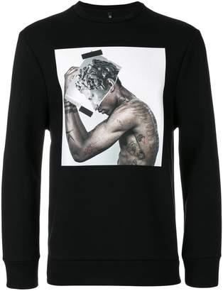 Neil Barrett Tattoo Sculpture 01 sweatshirt