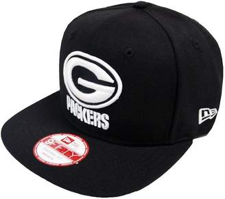 New Era Green Bay Packers White Logo Snapback Cap 9fifty Limited Edition