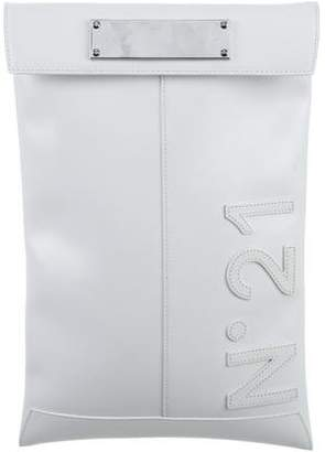 No.21 No. 21 Logo Leather Wristlet