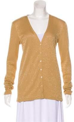 Ralph Lauren Black Label Embellished Cardigan Sweater