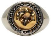 Alexander McQueen Gold Tooth Ring