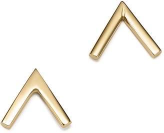 Bloomingdale's 14K Yellow Gold Arrow Bar Stud Earrings - 100% Exclusive