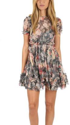 Zimmermann Radiate Ruffle Mini Dress