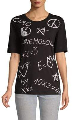 Love Moschino Cotton Graphic Tee