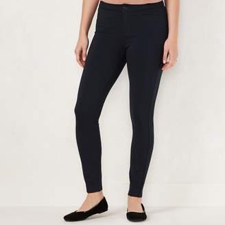 Lauren Conrad Women's Skinny Ponte Pants