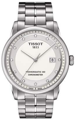 Tissot Men's Luxury Powermatic 80 COSC Bracelet Watch, 41mm
