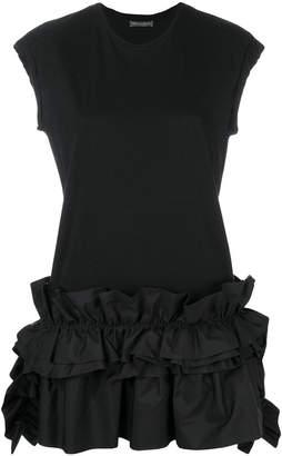 Alexander McQueen sleeveless ruffle top