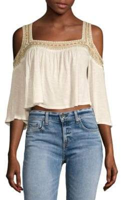Raga Rosalie Cold-Shoulder Blouse