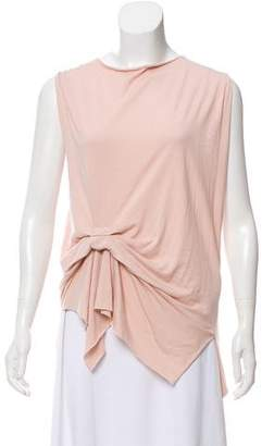 AllSaints Gather-Accented Sleeveless Top