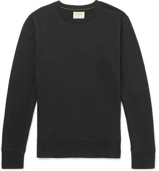 Nudie Jeans Evert Loopback Organic Cotton-Jersey Sweatshirt