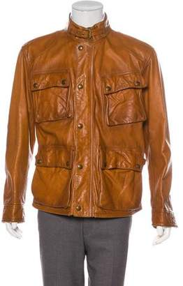 Ralph Lauren Leather Zip Jacket