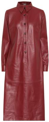 Dodo Bar Or Leather shirt dress