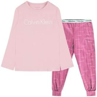 Calvin Klein Calvin KleinGirls Pink & Purple Pyjamas