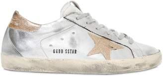 Golden Goose Super Star Metallic Faux Leather Sneaker