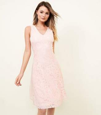 Yumi Pink Lace Dress